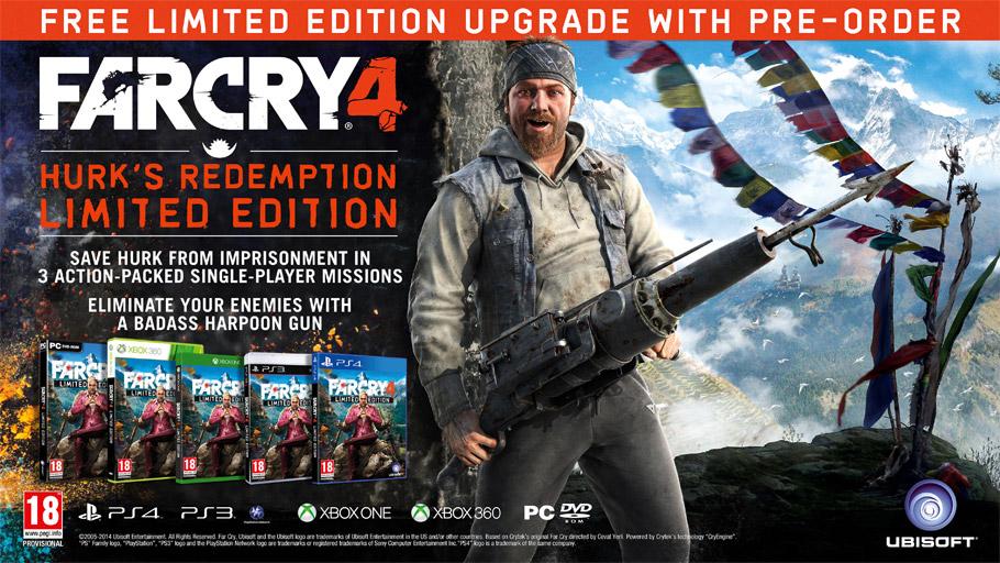 far cry 4 dlc hurks redemption Far Cry 4 Editionen
