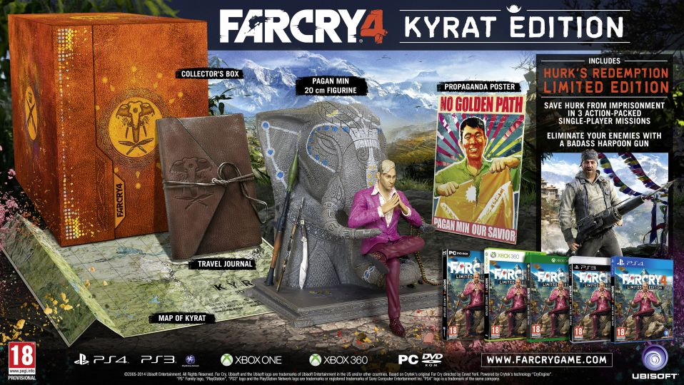 far cry 4 kyrat edition Far Cry 4 Editionen