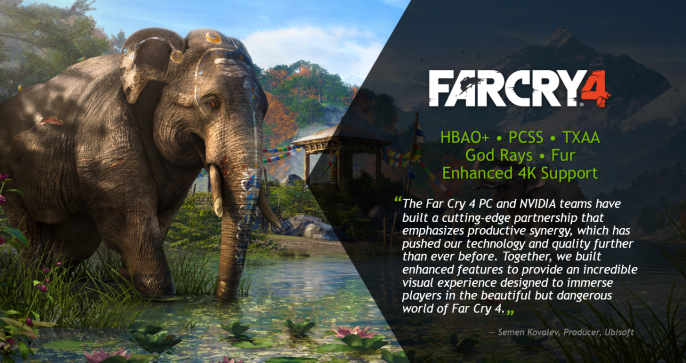 far cry 4 nvidia tech quote 686x363 Systemanforderungen