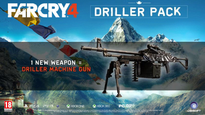 far cry 4 pre order driller pack machine gunl 686x386 Pre Order Bonus