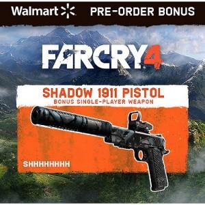 far cry 4 pre order walmart shadow 1911 pistol 300x300 Pre Order Bonus