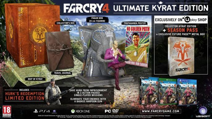 far cry 4 ultimate kyrat edition 686x385 Far Cry 4 Editionen