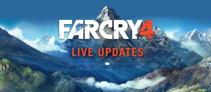 far cry 4 live updates 686x301 Ubisoft veröffentlicht Far Cry 4 Patch v1.2.0